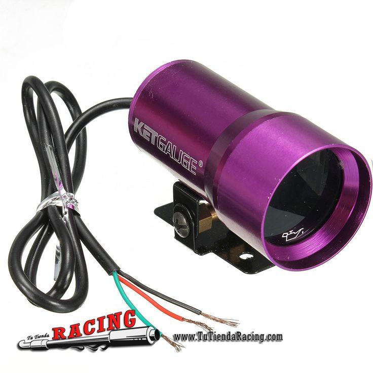 Mini Medidor de Presión Aceite 37mm 0-100PSI Coche Tuning Apariencia Luz Cambio Color Morado - 22,35€ - TUTIENDARACING - ENVÍO GRATUITO EN TODAS TUS COMPRAS