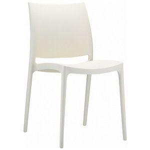 Compamia La Plaza Maya Stacking Dining Side Chair  (Set of 2)