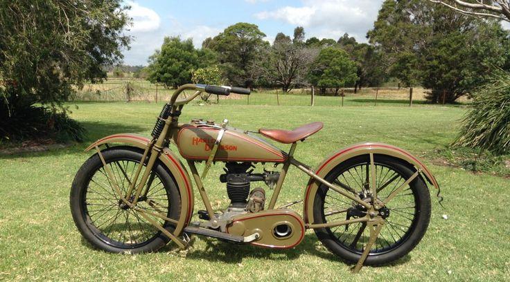 "Fast Is Fast Pea Shooter Harleys: 1926 350cc Harley Davidson OHV ""Peashooter"""
