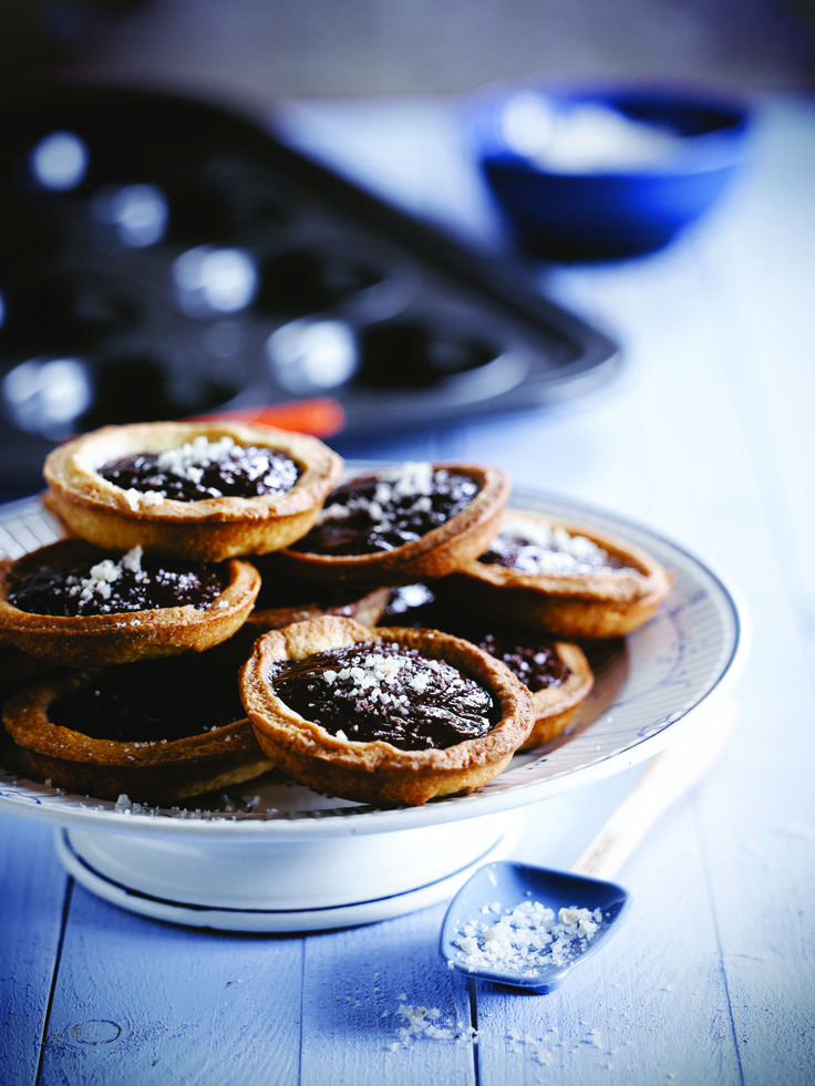 Le Creuset Chocolate and Caramel Tartlets