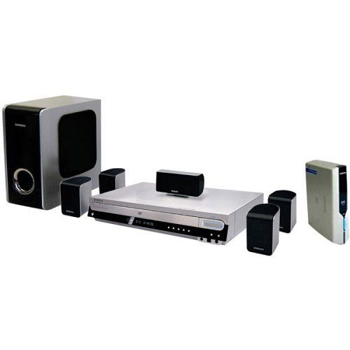 Introducing Samsung HTWP38 DVD Home Theater System with USB Plugandplay and Wireless Rear Channel. Great product and follow us for more updates!