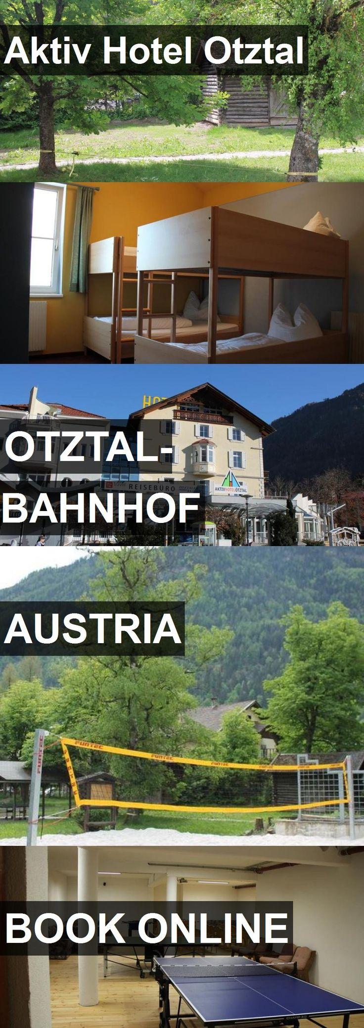 Aktiv Hotel Otztal in Otztal-Bahnhof, Austria. For more information, photos, reviews and best prices please follow the link. #Austria #Otztal-Bahnhof #travel #vacation #hotel
