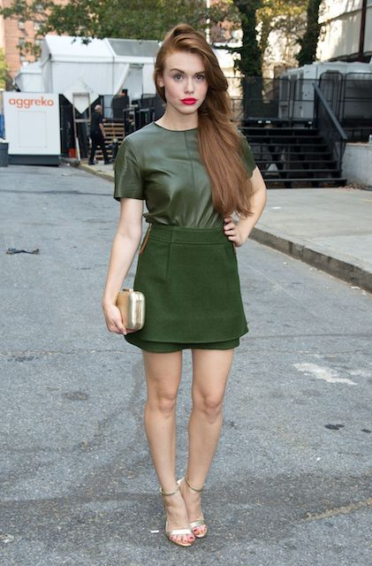 American actress, Holland Roden...