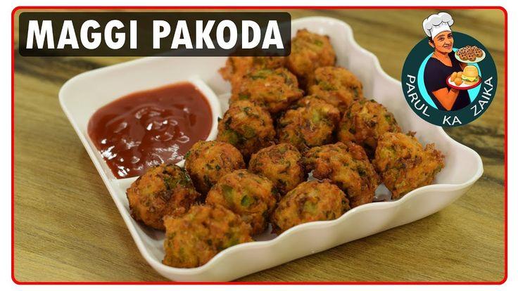 Maggi Pakoda Recipe | Indian Pakora Recipes | Quick And Easy Instant Food