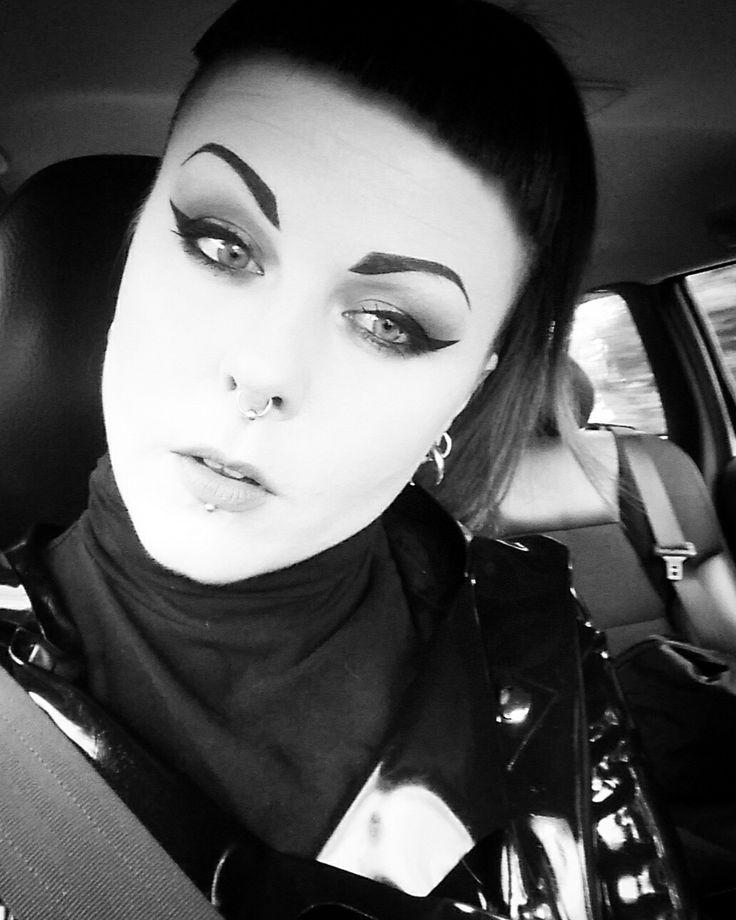 In car...   Maria Gibson