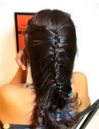 Trança Costela de Adão aprenda um penteado novo