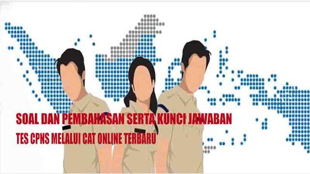 Contoh Soal Tiu Cpns 2018