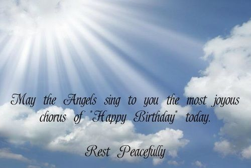 Birthday wishes and messages — Birthday Wishes for an Uncle In Heaven
