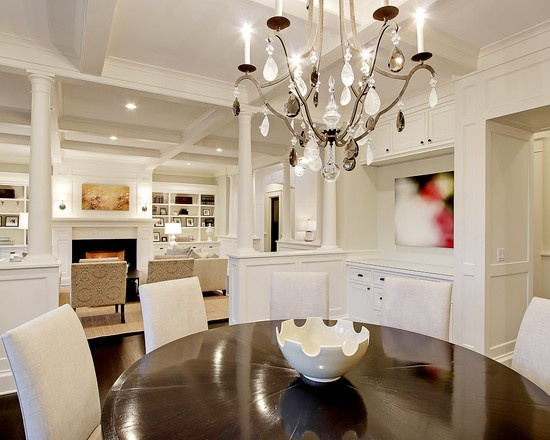 Dining Room Coffered Ceiling Design, Pictures, Remodel, Decor and Ideas - page 5
