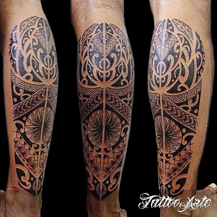 tatuagem maori perna tattoo wade bein pinterest grafiken. Black Bedroom Furniture Sets. Home Design Ideas