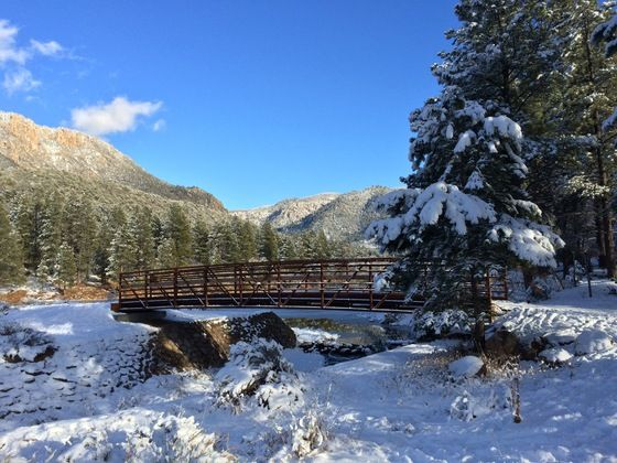 Dixie National Forest, Pine Valley Recreation Area ...