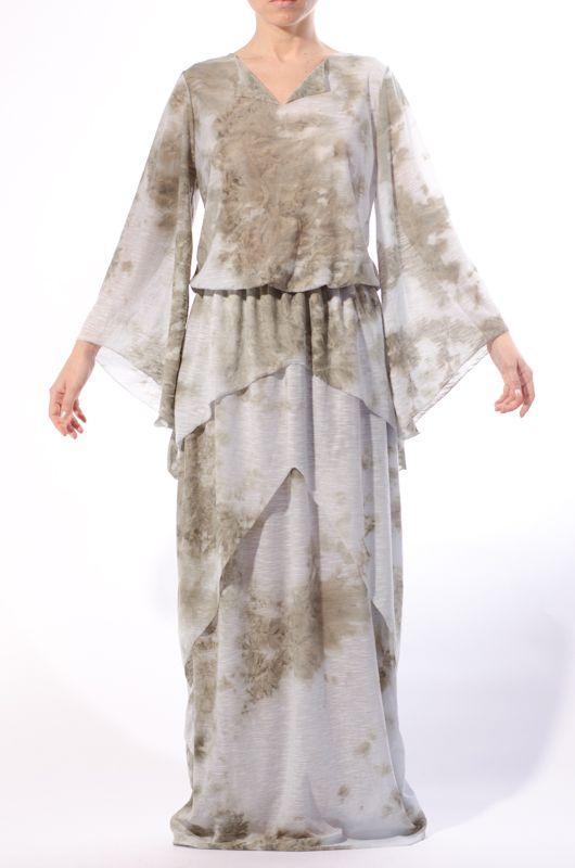 'Clouds Dress' - Katttja