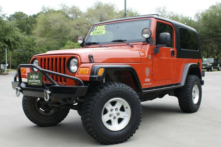 Best 2005 Impact Orange Unlimited Only 50K Miles Automatic 400 x 300