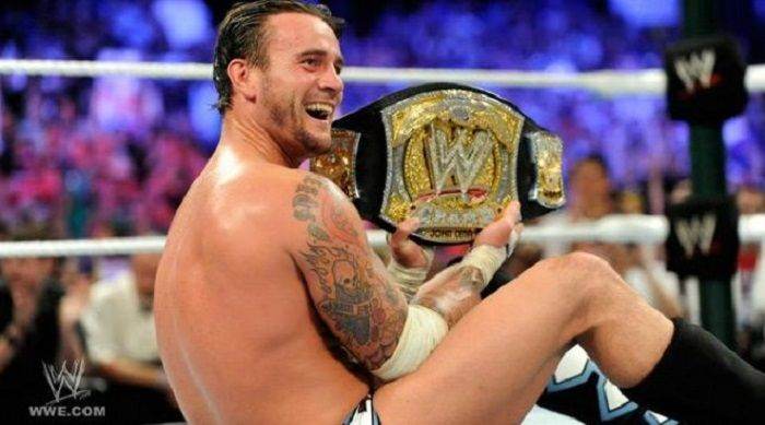CM Punk Gave His WWE Championship Belt To Another Wrestler For Christmas