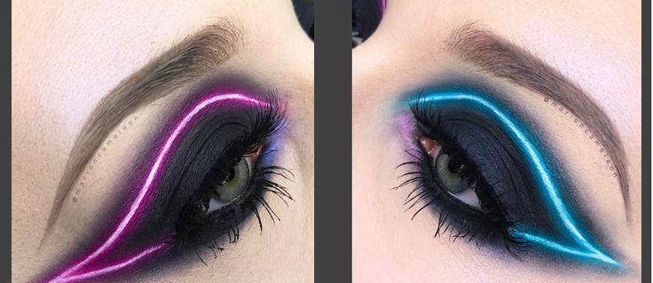 Neonvärit+tehostavat+nyt+silmämeikkiä+–+katso+kuvat+loistavasta+meikkitrendistä