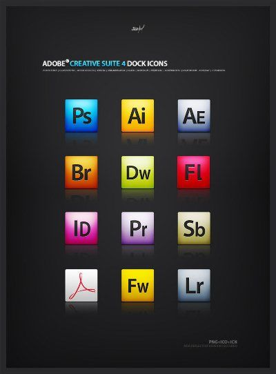 18 Creative Free Adobe Icon Sets to Download