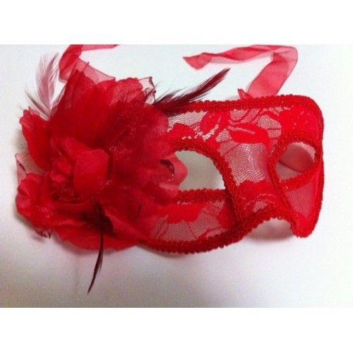 Kırmızı Dantel Maske / Kına, Bekarlığa Veda, Parti İçin