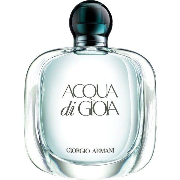 GIORGIO ARMANI Acqua di Gioia eau de parfum (220 ILS) ❤ liked on Polyvore featuring beauty products, fragrance, edp perfume, giorgio armani, eau de parfum perfume, eau de perfume and giorgio armani perfume