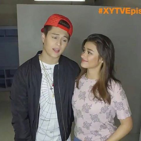 @Regrann from @tataklqcanada -  The look of LOVE  XY video is up. Please check it out! https://youtu.be/5Fttvbaz2X8 ..  #lizquen #lizasoberano #enriquegil #regrann