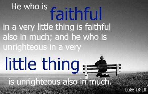 Luke 16:10