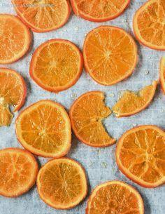 Pienso...luego cocino: Naranjas confitadas