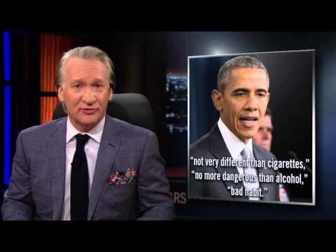 Bill Maher Lights Up A Joint To Make A Sobering Point About Legal Pot