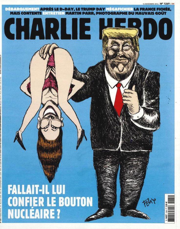 Charlie Hebdo - # 1269 - Mercredi 16 Novembre 2016 - Couverture : Felix