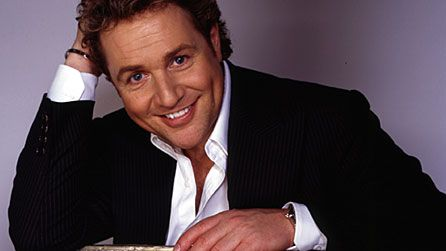 Michael Ball:  For Setting out Stalls in Music Halls to Curtain Calls - A Big Thumbs up from The Holy Spirit.