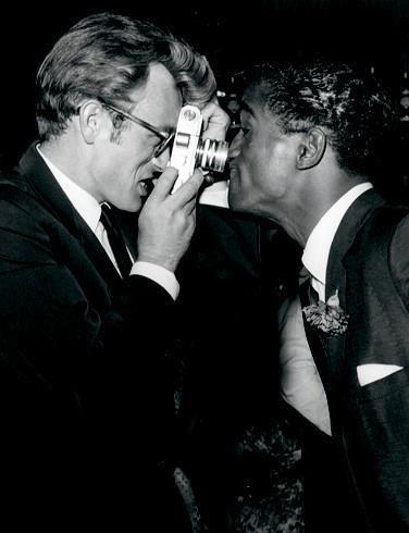 James Dean & Sammy Davis Jr.