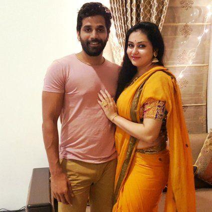 Wedding Bell:  Actress #Namitha has Surprised Her Fans. #CineUpdates #ChennaiUngalKaiyil #ActorVeera