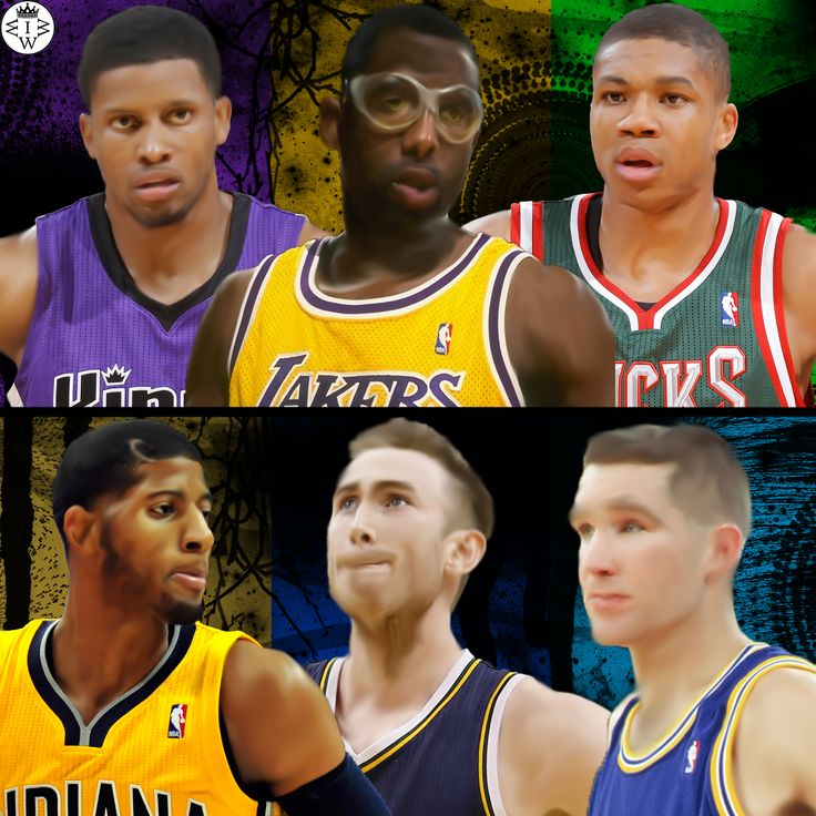 All Small Forward Edition.  Rudy Gay, James Worthy, and Giannis Antetokounmpo VS Paul George, Gordon Hayward, and Chris Mullin.  Who Would Win It?
