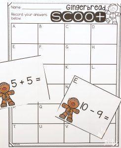 gingerbread scoot freebie