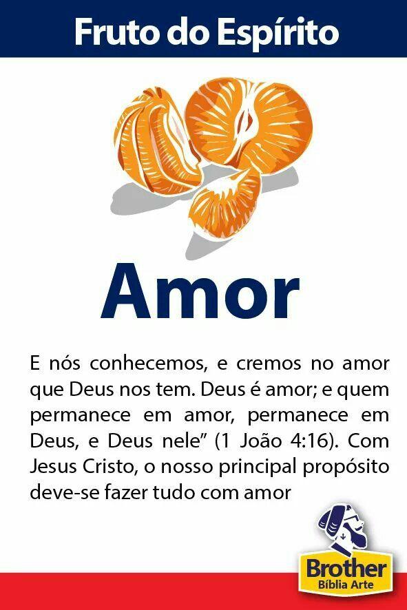 Fruto do Espírito - Amor