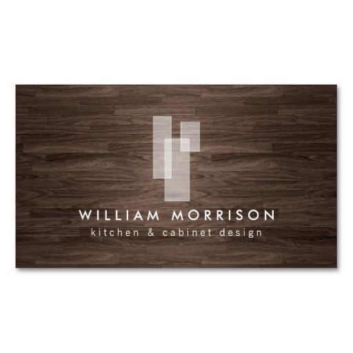 22 best flooring business images on pinterest business card design modern architectural logo on dark woodgrain business card colourmoves