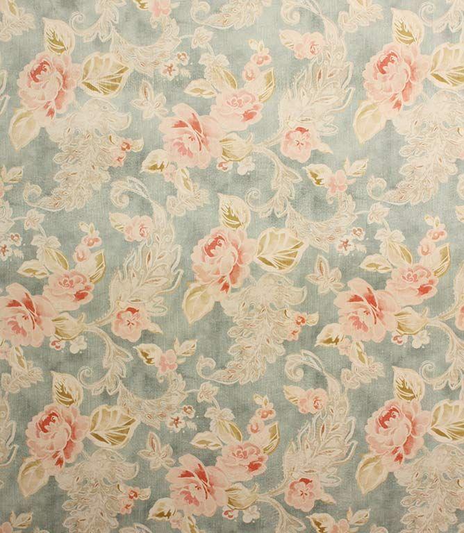 Hampnett Fabric Blue Traditional Fabric Fabric Upholstery Fabric