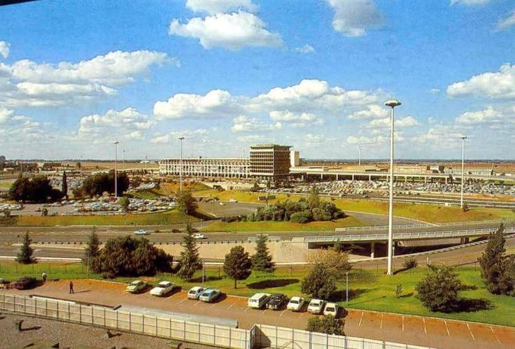 Jan Smuts airport back in the day.