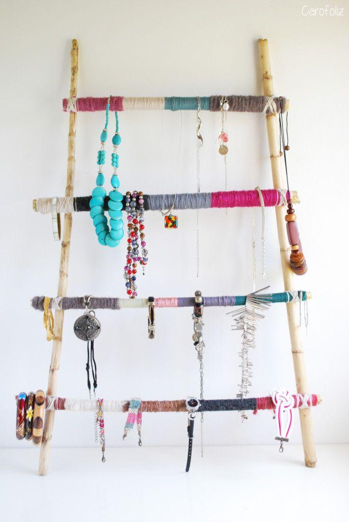 diy porte-bijoux