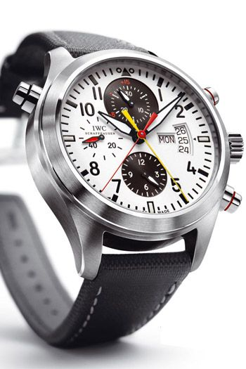 iwc pilotu0027s watch double chronograph edition dfb iwc watchesmen