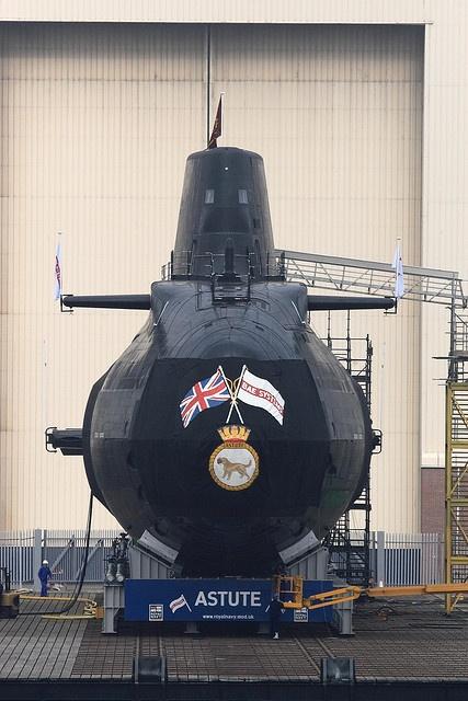 HMS Astute by Mark Butcher, via Flickr