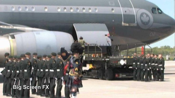 Canadian Repatriation Ceremony / Highway of Heroes Canada