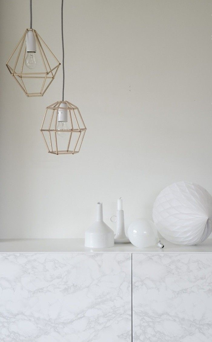 DIY: Pendants Lights Made from Drinking Straws (for Less Than $20)