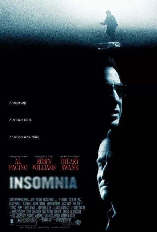 """""""Insomnia"""" (2002). Al Pacino and Robin Williams."""