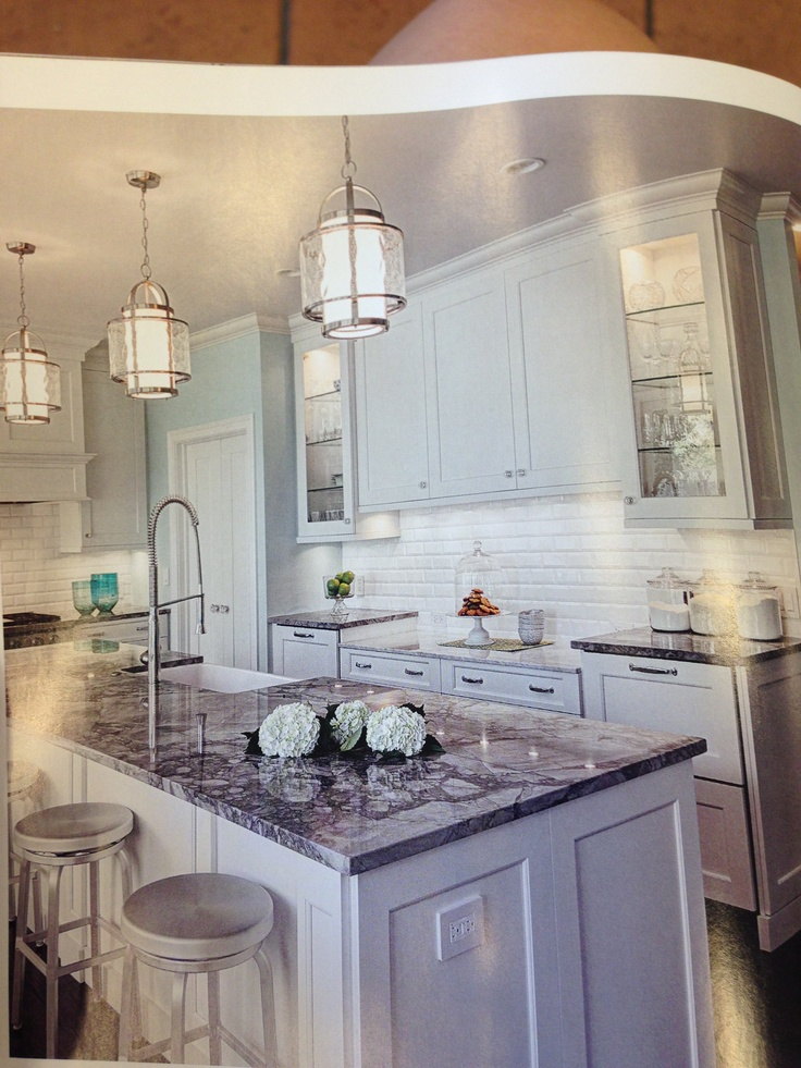 Best White Kitchen Grey Granite Glass Cabinets Kitchen Love 400 x 300