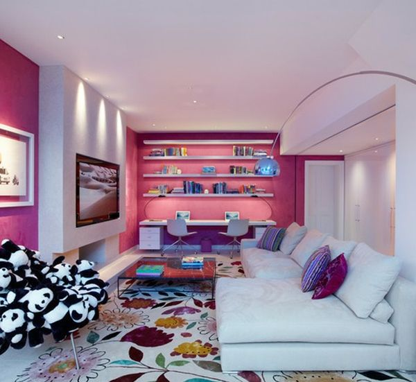 176 best Pink Rooms images on Pinterest | Pink walls, Spaces and Live