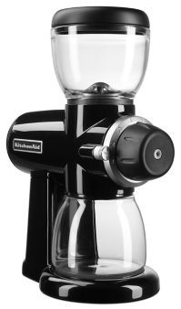 The best for refined coffee grinding, the Kitchenaid Burr Grinder (KCG0702ER)