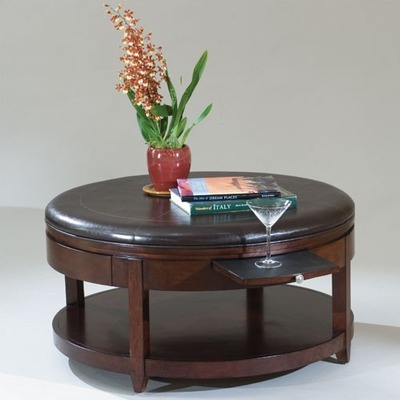 magnussen brunswick round coffee table