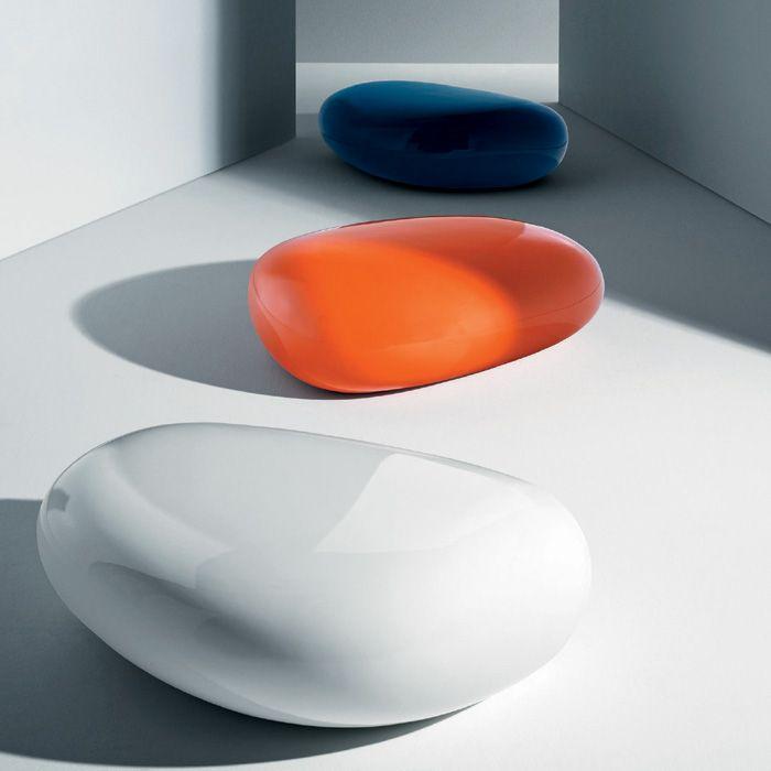 Driade - Naoto Fukasawa - Koishi Orange Pouf | Panik Design