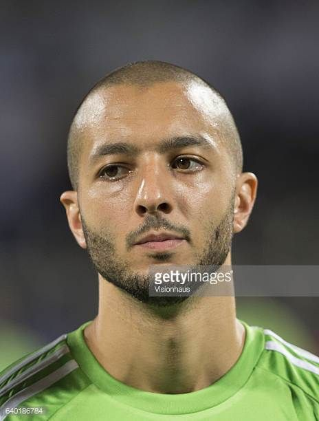 HANNI of Algeria during the Group B match between Senegal and Algeria at Stade Franceville on January 23 2017 in Franceville Gabon