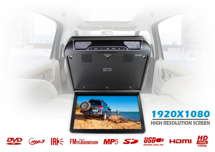 13.3 inch Car Roof Mount DVD Player   Roof Mount DVD  Elinz