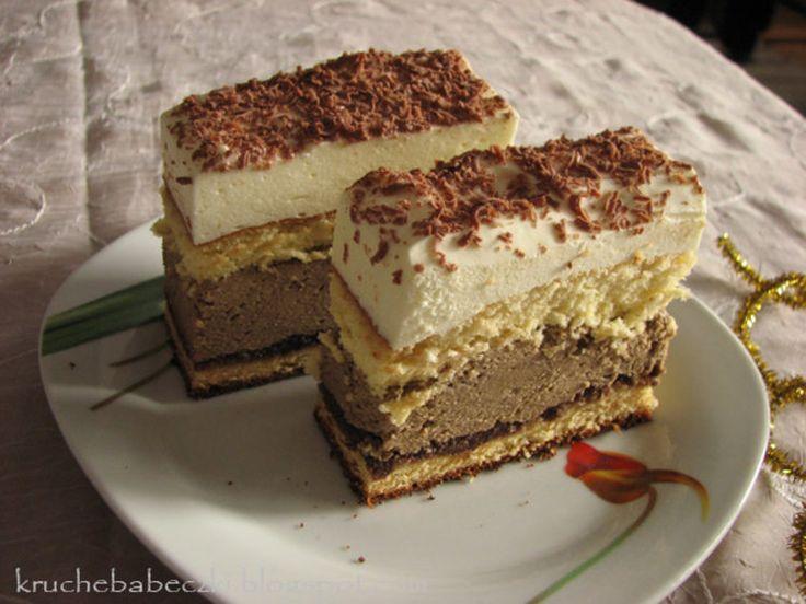 Ciasto kawowo-�mietankowe